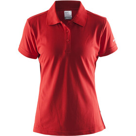 Craft Classic t-shirt Dames rood